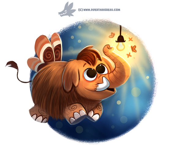 File:Daily paint 1192 mammoth by cryptid creations-d9t4k9o.png