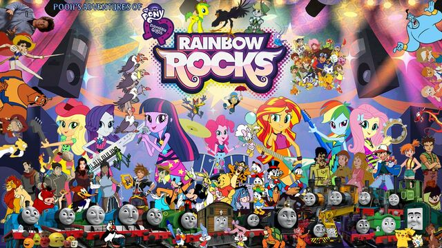 File:Pooh's Adventures of My Little Pony - Equestria Girls - Rainbow Rocks Second Poster 2.jpg