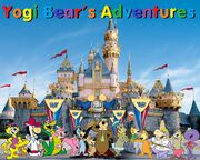 Yogi Bear's Adventures logo