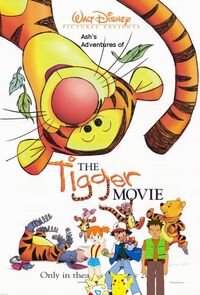 Ash's Adventures of The Tigger Movie poster