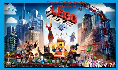 Thomas and Twilight Sparkle's Adventures of The LEGO movie