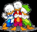 Huey, Dewey, and Louie