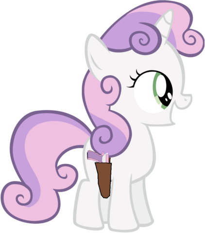 File:Sweetie Belle with her .9mm pistol.png