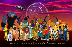 Benny Leo Johnny Adventures poster1