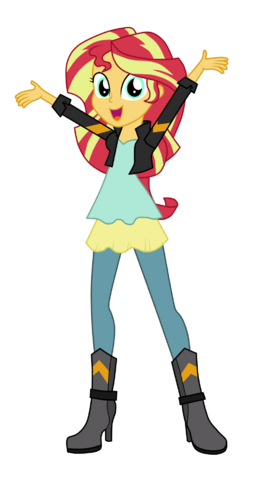 File:Sunset Shimmer (New Look).png