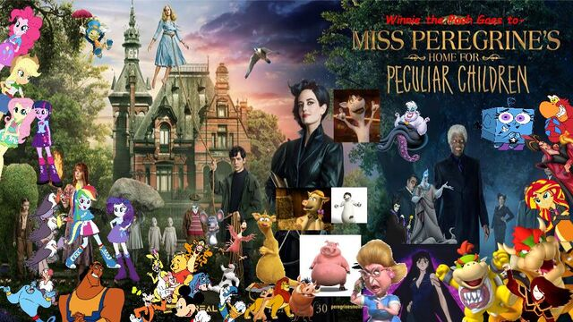 File:Winnie the Pooh Goes to Miss Peregrine's Home for Peculiar Children (Poster) .jpg