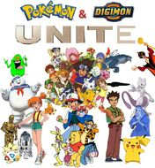 Pokemon & Digimon Unit Poster