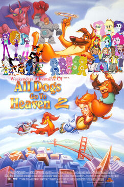 Weekenders Adventures of All Dogs Go to Heaven (Redo)