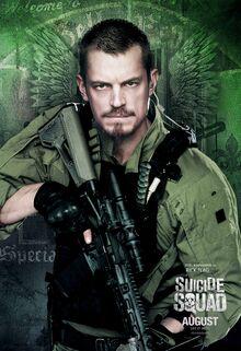 Rick Flag Suicide Squad Poster