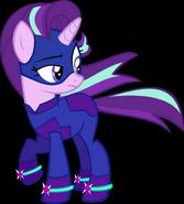 Starlight Glimmer as a Powe Pony