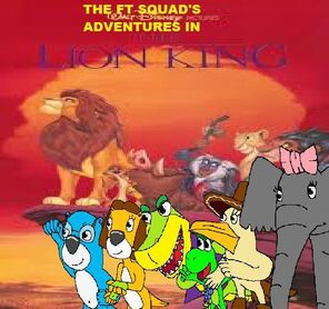 The FT Squad's Adventures in The Lion King