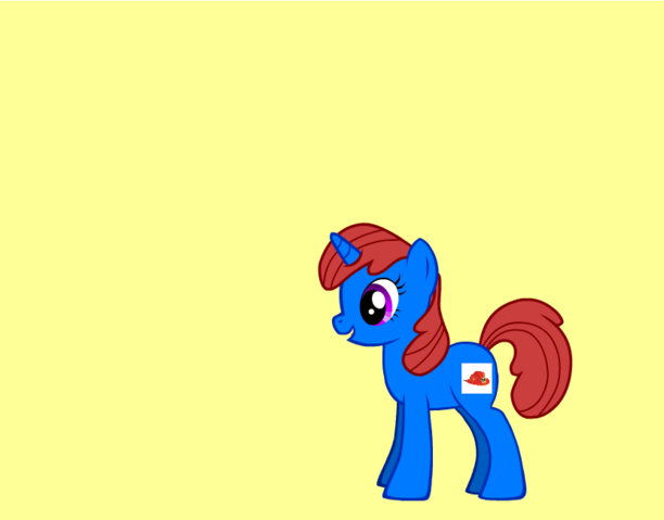 File:Belle as a pony.png