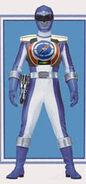 Blue Overdrive Ranger (with Defender Vest)