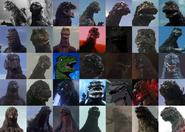 Godzilla Suit History