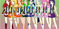 Happiness Sky Pretty Cure Girls