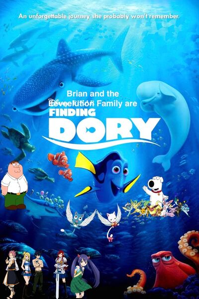 Brian and the Eeveelution Family are Finding Dory