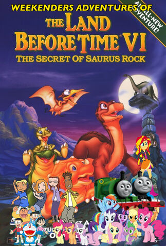 File:Weekenders Adventures of The Land Before Time VI (Remake) Poster.jpg