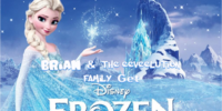 Brian and the Eeveelution Family get Frozen