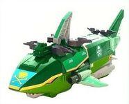 Green Sharkzord