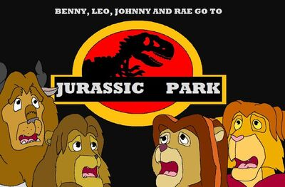 Benny leo johnny and rae go to jurassic park by kylgrv-d5cf5zz