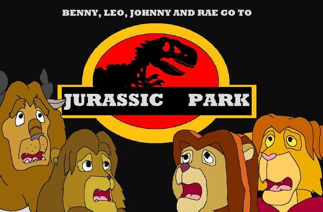 File:Benny leo johnny and rae go to jurassic park by kylgrv-d5cf5zz.jpg