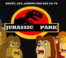 Benny, Leo, Johnny and Rae Goes to Jurassic Park