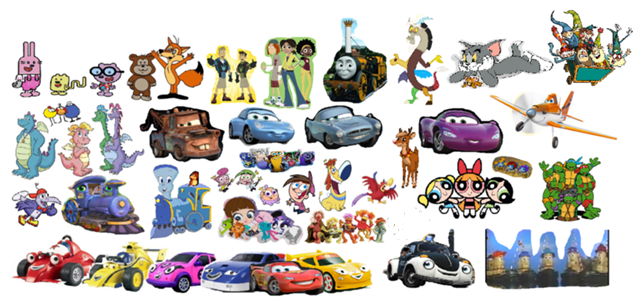 File:Roary the Racing Car and Theodore Tugboat's Adventures team Remake 2.png