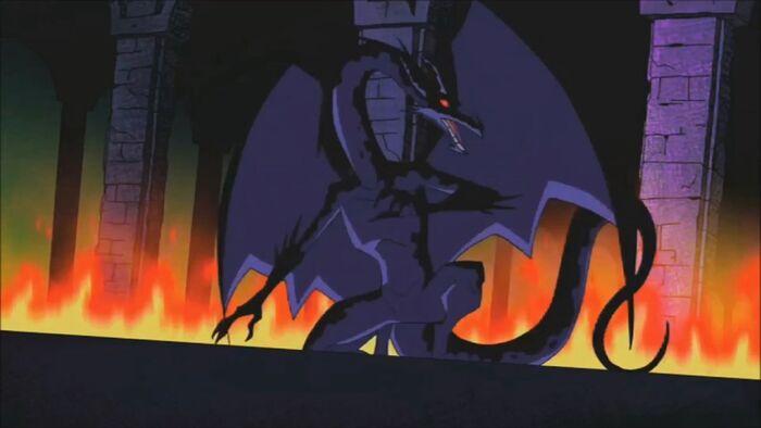 Teentitans dragon by jd1680a-d9ah6st