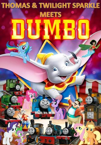 File:Thomas and Twilight Sparkle meets Dumbo Poster 2.jpg