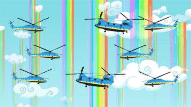 Wonderbolt choppers