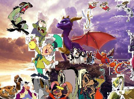 File:Spyro and friends adventures poster..jpg