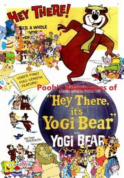 Pooh's Adventures of Hey There it's Yogi Bear Poster (Version 2)