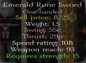 Emeraldruneswordinfo
