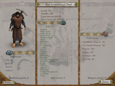 Red Brotherhood Thief