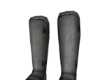 Polished Steel Boots