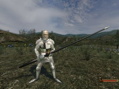 Long Cavalry Lance