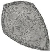 Ancient Engraved Shield