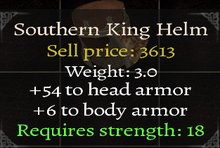 Southern King Helm