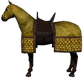 Caparisoned horse yellow.png