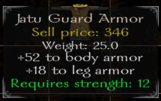 Jatu Guard Armor Stats