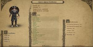 Queen Agnus Freebooter