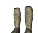 Soft Soled Ornate Greaves