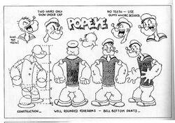 Popeye's classic design