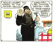 Geezil the Shoemaker