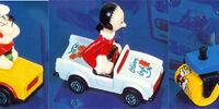 Matchbox Popeye die-cast cars