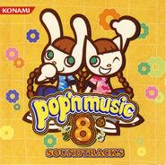 Pop'n music 8 SOUNDTRACKS