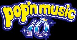 Pop'n Music 10 logo