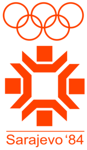 1984 Winter Olympic Logo