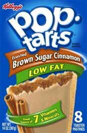 Low Fat Frosted Brown Sugar Cinnamon