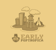 Early Poptropica Island in the Map